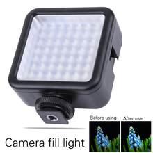 Tragbare 49 LED Video Licht Lampe Fotostudio Foto Hochzeit Party Füllen-in Beleuchtung für Canon Nikon DSLR Kamera