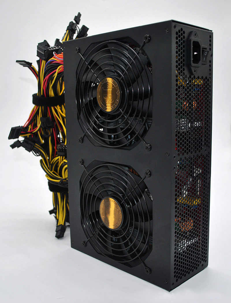 Fonte de alimentação asic para computador, fonte de alimentação de miner bitcoin 3600w para gtx 1080 rx470 480 570 12-13 gpu b