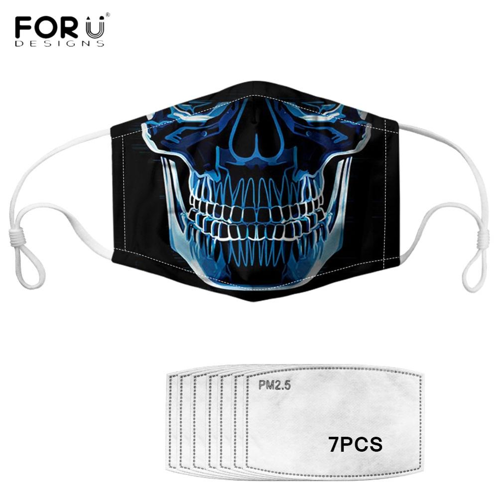Adult customizable masks with 7 filters, dustproof and antifog, reusable, washable masks, breathable masks