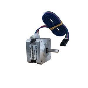 Image 2 - 50 pz/lotto 17HS2408 4 lead Nema 17 Motore Passo passo 42 motore 42BYGH 0.6A CE ROSH ISO CNC Laser grind Foam Plasma Cut