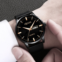 Men Watch Rose Gold New Trend Fasion Casual Luxury Waterproof Sports Wrist For Quartz Wristwatch Relogio Masculino