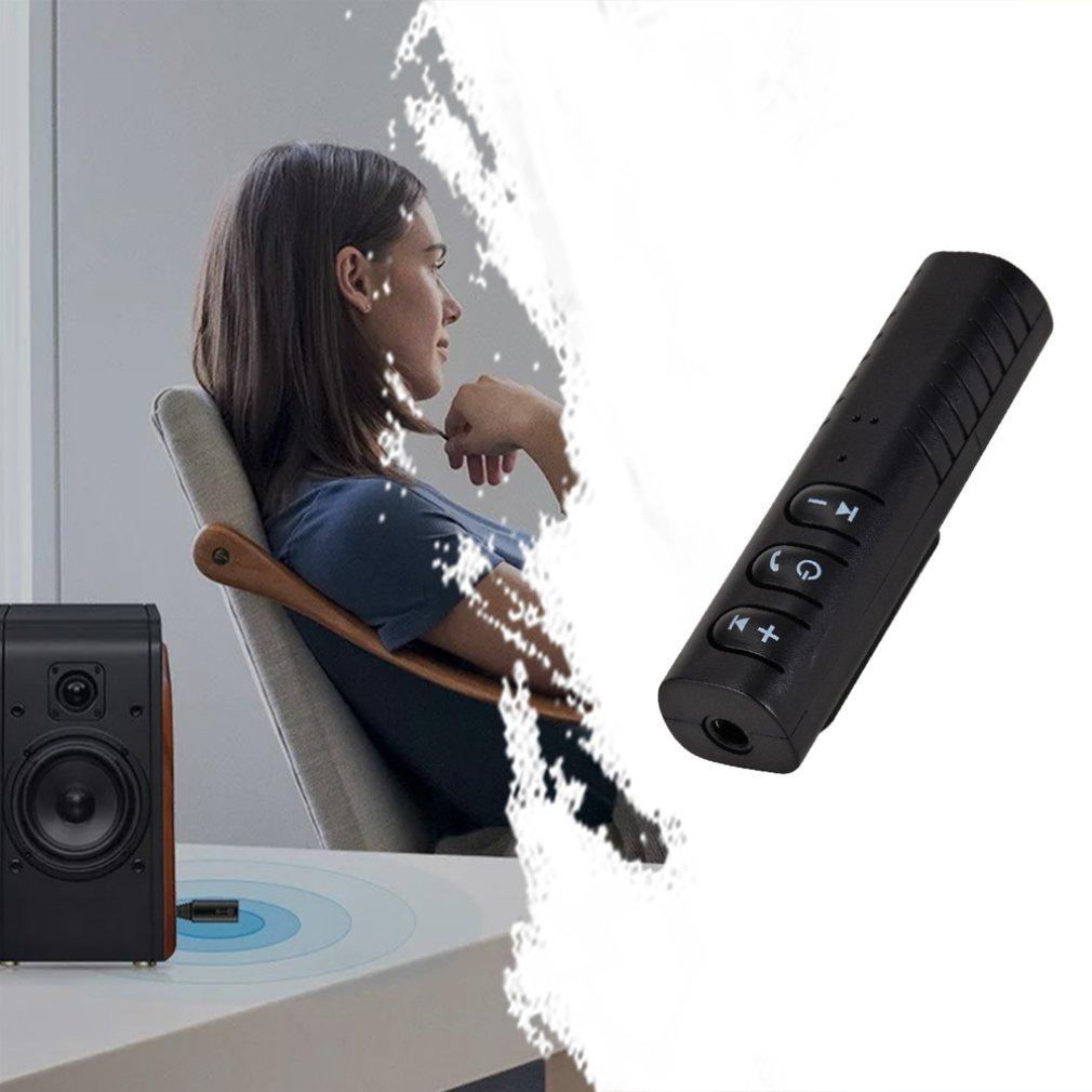 Громкая связь Bluetooth автомобильный комплект авто 3,5 мм Bluetooth Беспроводной музыки MP3 приемник аудио адаптер для наушников