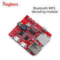 1Pcs Bluetooth MP3 decoding module, audio receiving board, earphone decoding and playback, with U disk TF card front input