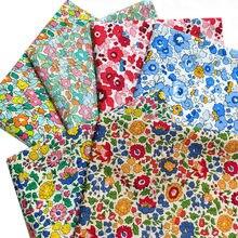 145x50cm primavera verão algodão super denso popelina costura tecido fazendo roupas femininas vestido crianças roupas de casa pano