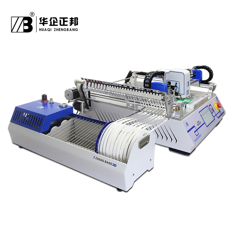 Low Cost Pick Place Machine ZB3245T / LED Chip Mounter Machine For Smt