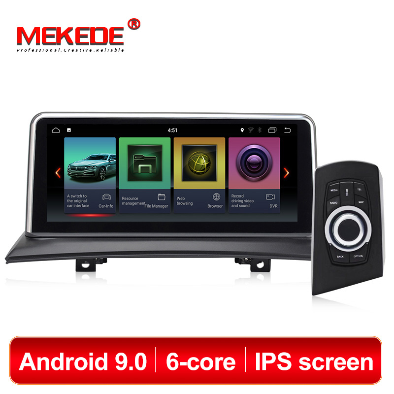 MEKEDE Car Multimedia Player 6 Core Android 9.0 Car Gps Navigation Radio For BMW X3 E83 2004-2010 Original Car Without Screen