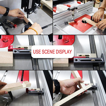 New Movable Woodworking Tools Slot Regulator Measuring Block Length Compensation Table Saw Slot Adjuster Mortise and Tenon Tool