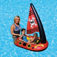 Pool Float Boat Game Water toys Inflatable Swimming Pool Accessories water Funny toy for Kids Children Gift Air Mattresses