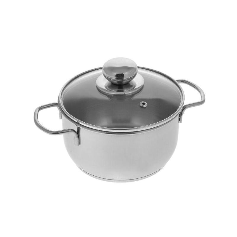 Pan АМЕТ, Classic-Prima, 1,5 L, with glass cover pan амет classic prima 1 l with metal cover