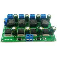 3A 4 Channels Multiple Switching Power Supply Module 3.3V 5V 12V ADJ Adjustable Output DC DC Step Down Buck Converter Board|AC/DC Adapters| |  -