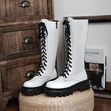 Neue Winter Natürliche Echte Leder Mid-Kalb Stiefel Frauen Stiefel Motorrad Stiefel Pelz Einem 100% Rindsleder Westlichen Weiblichen Schnee stiefel