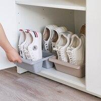 간단한 현대 노르딕 스타일 수직 경제 슬리퍼 랙 공간 홈 신발 스토리지 lw1221343