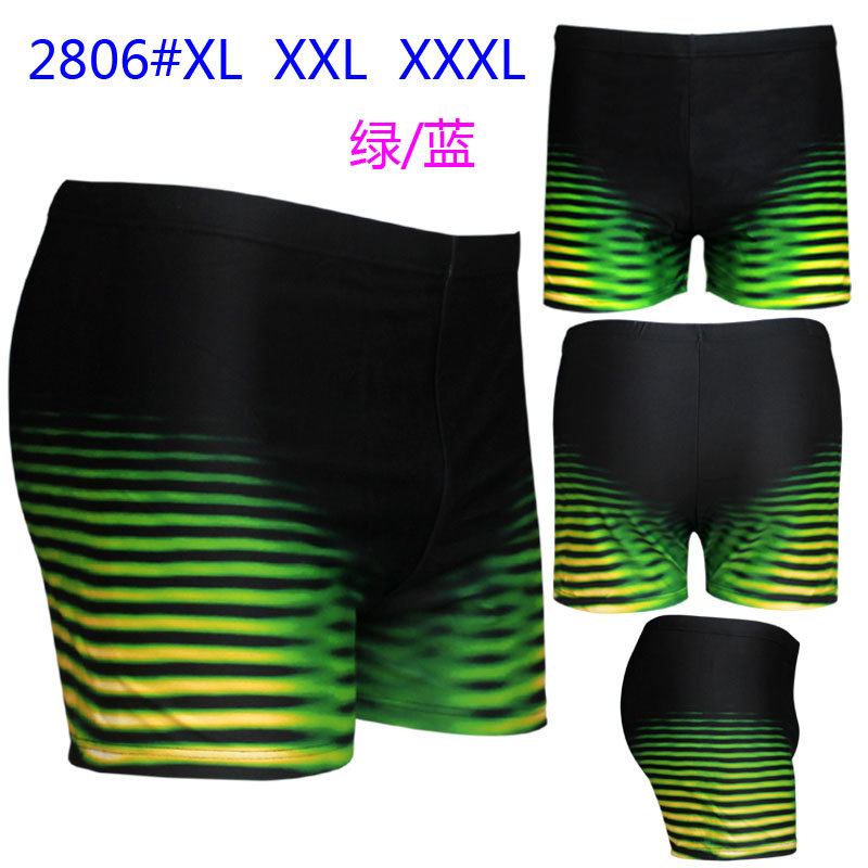 Top Grade Swimming Trunks Printed Plus-sized Swimming Trunks Men Fertilizer-Swimming Trunks Men's Swimming Trunks 2806 Bathing S