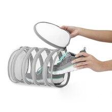 1pcs Durable Closure Shoe Wash Bag Washing Net Polyester Drying Laundry Protective