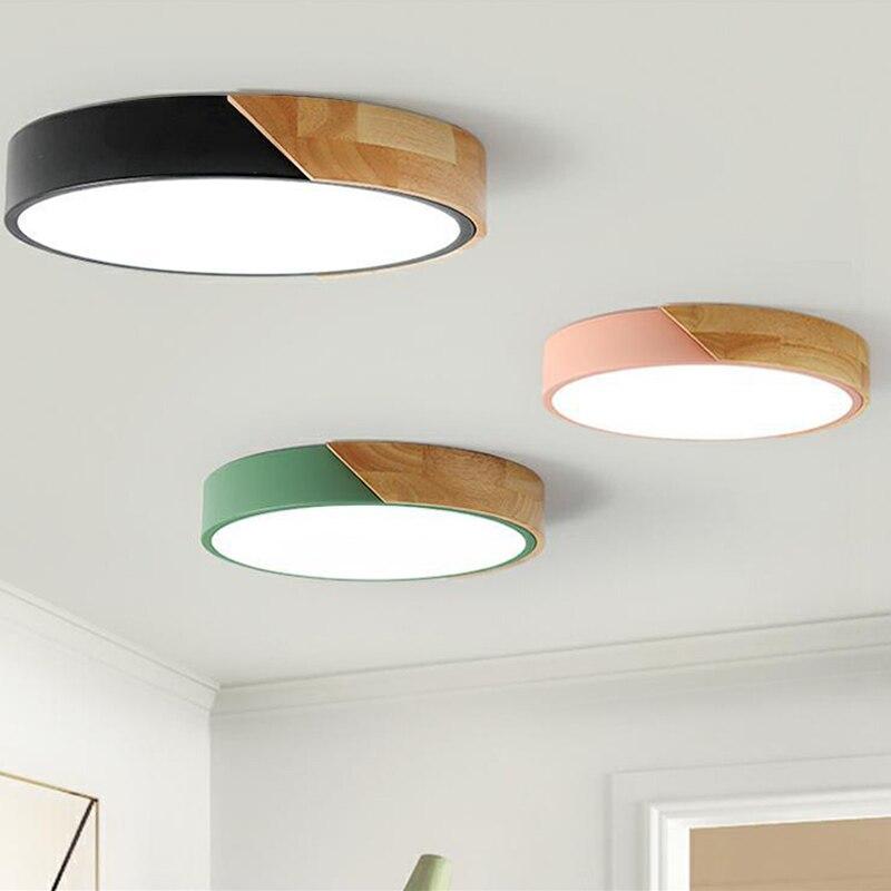Quarto moderno conduziu a luz de teto luzes da sala luminária ultrafinos conduziu a lâmpada do teto luzes para sala estar