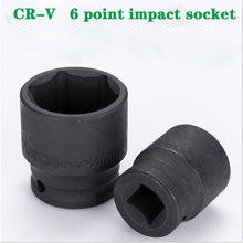 O soquete CR-V do impacto da movimentação quadrada métrica da ferramenta 8-32mm do soquete do impacto de 6 pontos ajusta 1/2 para o impacto pneumático bonde