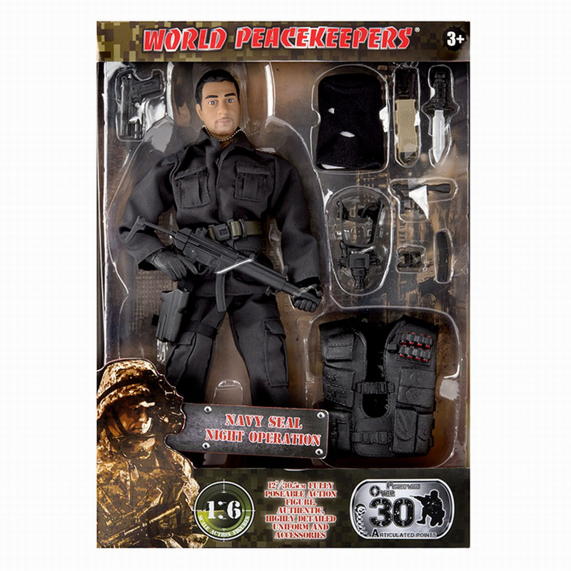 1/6 World Peacekeepers Action Figure With Accessories Combat Engineer Navy Seals Us Special Forces Airborne Secret Service