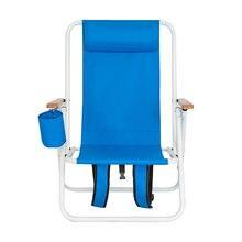 Кресло складное легкое для отдыха на открытом воздухе пляжа
