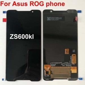Image 1 - 2018 オリジナル amoled スクリーン asus ROG 電話 Zs600kl z01QD Lcd ディスプレイタッチスクリーンデジタイザアセンブリの交換スペアパーツ