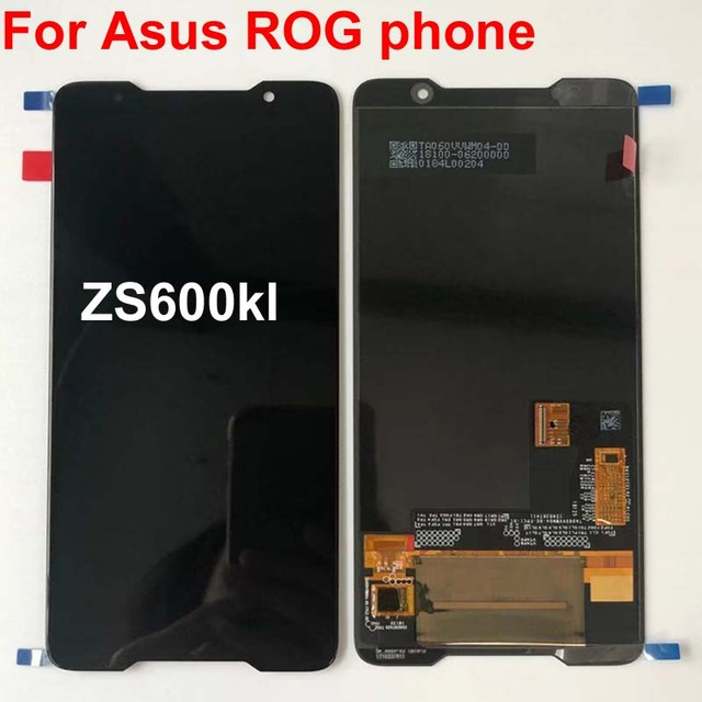 2018 オリジナル amoled スクリーン asus ROG 電話 Zs600kl z01QD Lcd ディスプレイタッチスクリーンデジタイザアセンブリの交換スペアパーツ