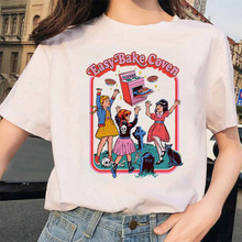 ZOGANKIN Aesthetic Harajuku T Shirts Women Ullzang Funny Cartoon T-shirt Grunge Graphic Tshirt Fashi