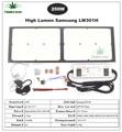 Superbright Samsung LM301H с регулируемой яркостью 150 Вт 240 Вт 3000 К/3500 К 660nm UV IR grow light quantum tech led board v3 с драйвером Meanwell