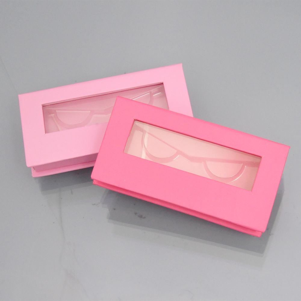 10/pack Wholesale False Eyelash Packaging Box Lash Boxes Packaging Custom Logo Faux Mink Lashes Strips Empty Case Bulk Vendors
