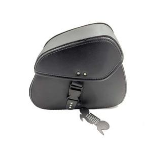 Motorcycle Bag Leather Saddle Bags 2pcs For Harley Sportster XL 883 XL 1200 Side Tool Bag Luggage alforjas para moto saddlebags