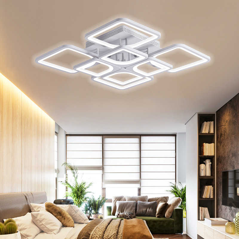 IRALAN LEDs  Chandelier home fixture Modern luster for Living Room Bedroom kitchern Home chandelier white  Lighting model 0126