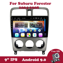 Android 9.0 For Subaru Forester Spoiler 2004-2007 2008 DVD Wifi Car Radio Multimedia Player Bluetooth 2 Din Navigation GPD OBD2