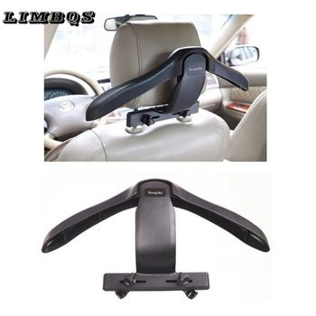 Car seat hanger for BMW f10 f30 f15 universal soft coat hangers back seat headrest clothes jackets suits holder organizer mounts image