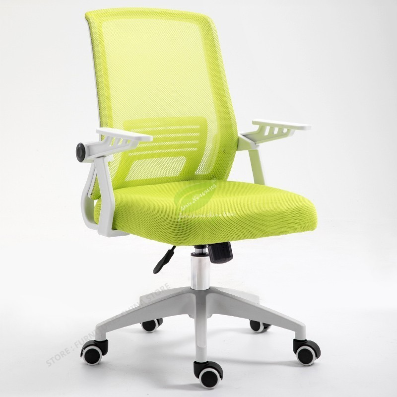 New Office Chair Lift Swivel Chair Staff Chairs Dormitory Chair Anti Fatigue Mesh Computer Chair Game Chair With Pulley Armchair