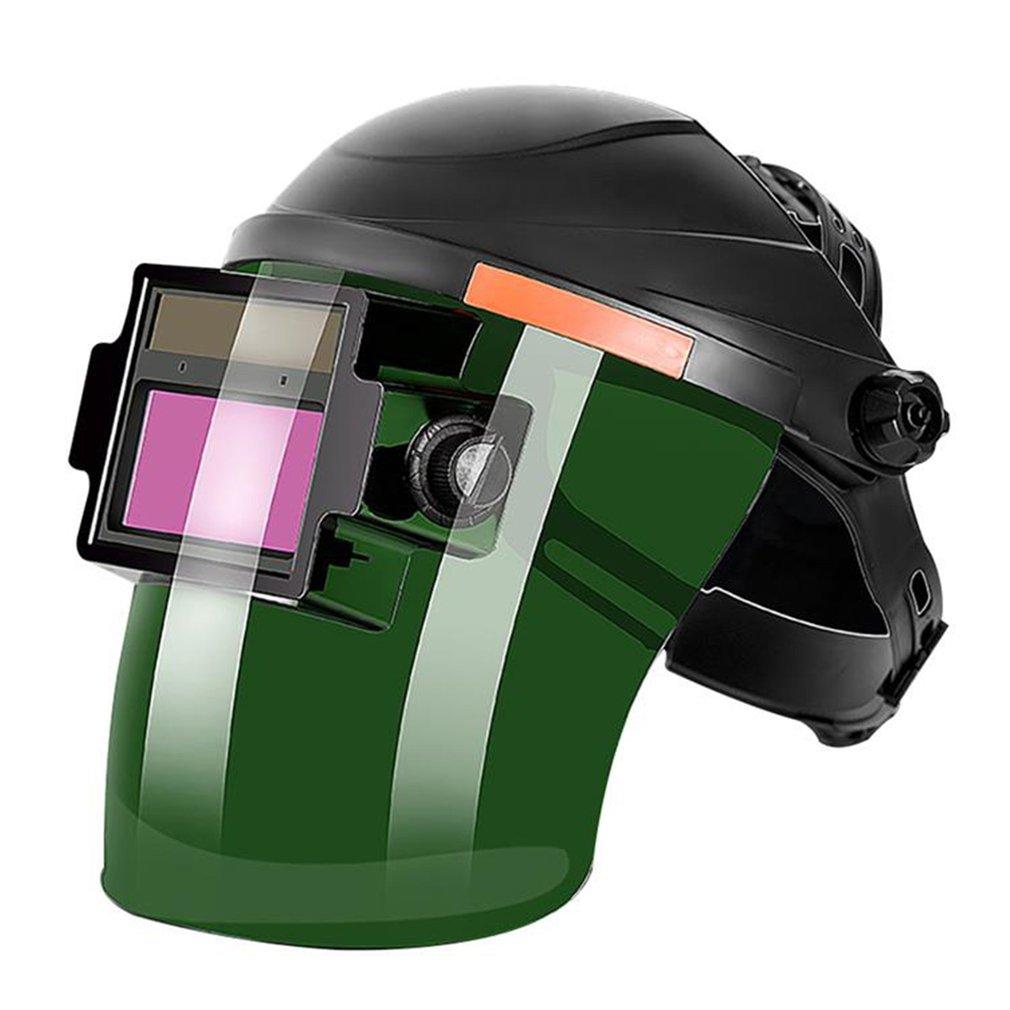 Solar Fully Auto Darkening Adjustable Range Flip Electric Welding Protective Mask Helmet Lens for Welder Machine