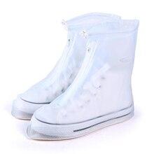 Высокое качество Для мужчин's и Для женщин непромокаемые Водонепроницаемый; сапоги на высоком каблуке, ботинки, чехлы для обуви многократного применения, возможно изготовление утепленного варианта модели Non-slip, толстые-Сол