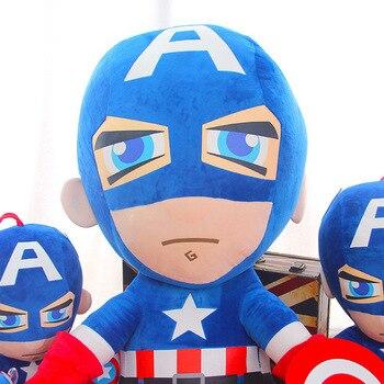 27cm Man Spiderman Plush Toys Movie Dolls Marvel Avengers Soft Stuffed Hero Captain America Iron Christmas Gifts for Kids Disney 6