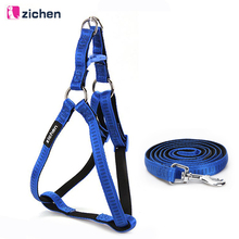 Get more info on the Zichen Dog Harness Leash Set Dog Leash Diving Fabric Lining Nylon Plus Soft Material For Dog Harness Leash Chain Daily Walking