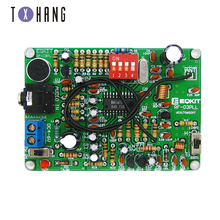 цена на 87-108MHz FM Frequency Modulation Wireless Microphone Module DIY FM Transmitter Board Parts Stereo FM Transmitter Module DC 4-6V