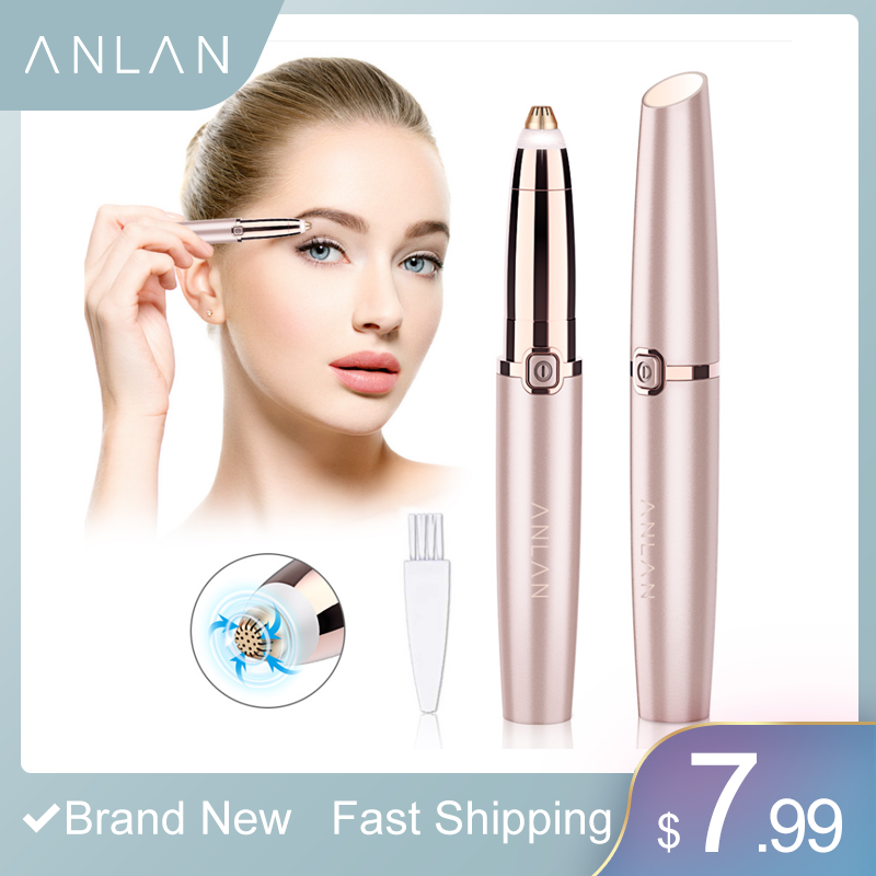Eyebrow Trimmer Epilators Lipstick Brows Pen Hair Remover Epilator Shaver Razor Instant Painless Eyebrow Razor Epilator Portable
