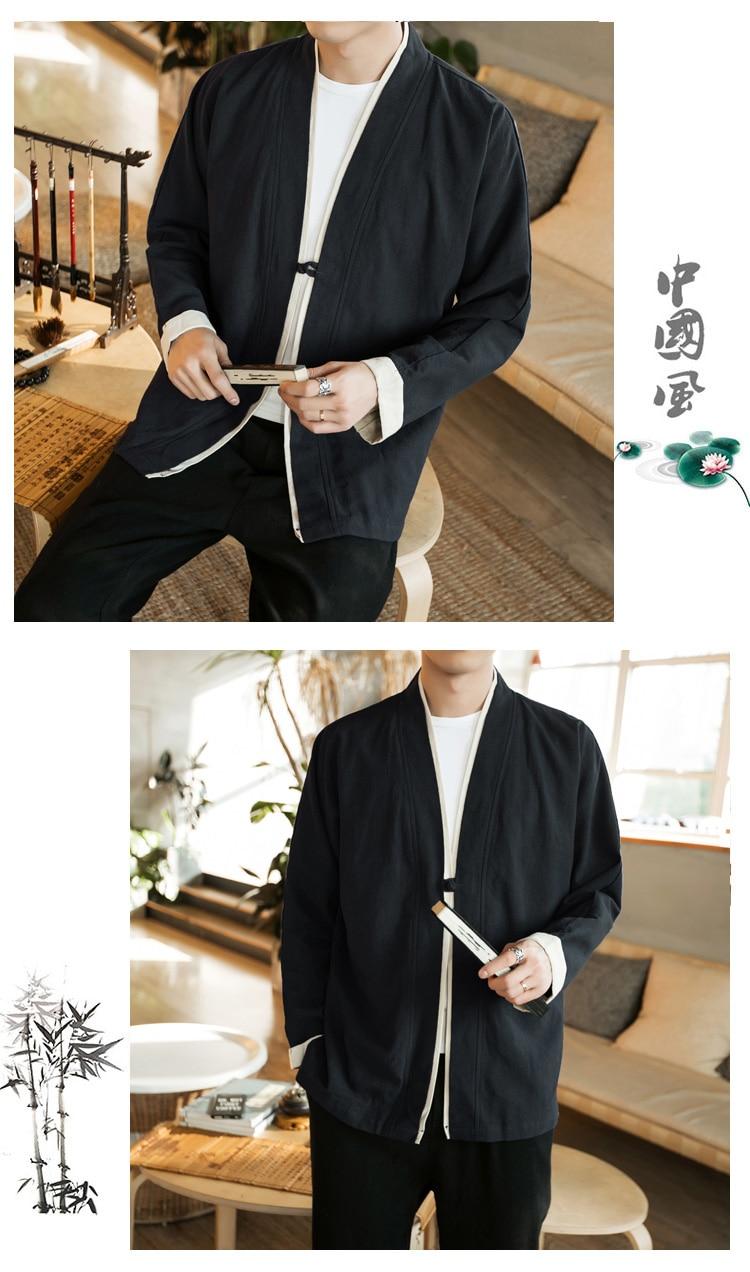 Sinicism Store Men Patchwork Shirt Streetwear Short Sleeve 19 Summer Harajuku Vintage Kimono Shirts Black Fashion Open Stitch 14