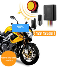 Universele Motorcycle Bike Alarmsysteem Scooter Anti-Diefstal Beveiliging Alarm Moto Afstandsbediening Motor Start + Alarme Moto Speaker(China)