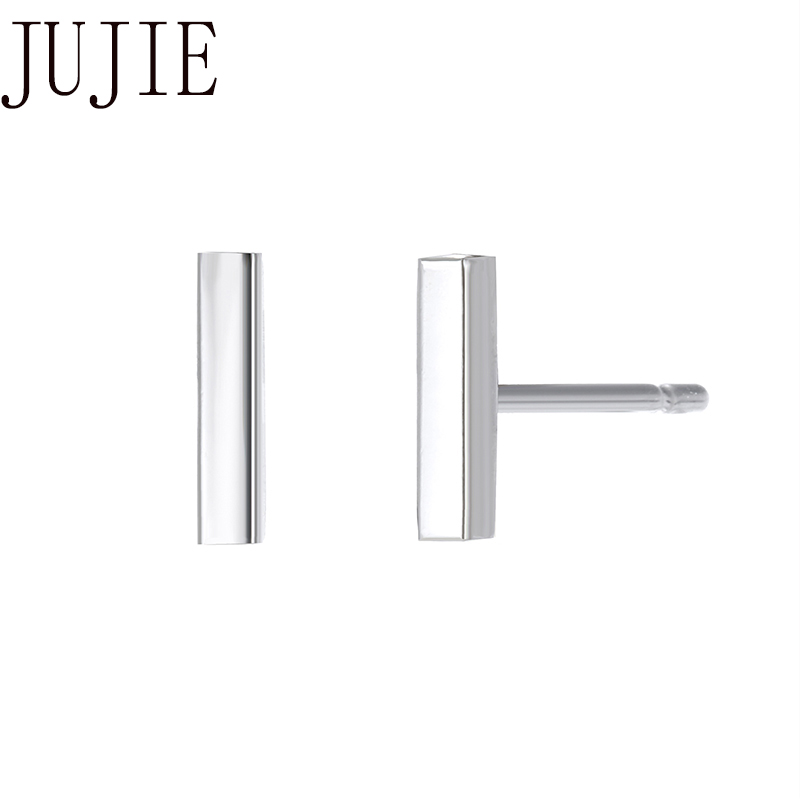 JUJIE Korean Style Stainless Steel Stud Earrings 2020 Simple Earrings For Women Fashion Jewelry Small Earrings Wholesale