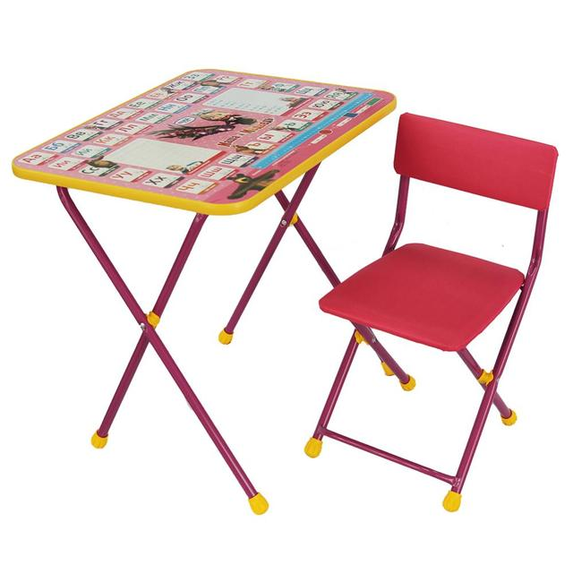 Children's study table home desk writing table and chair pupils desk and chair simple boys and girls rise and fall 3