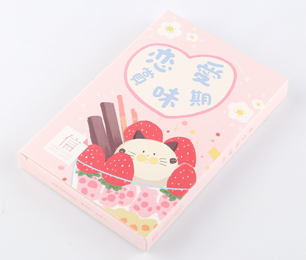 Happy Eating Paper Postcard(1pack=30pieces)