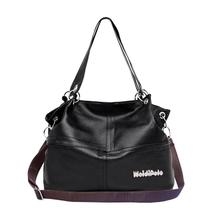 Shoulder-Bags Taschen Tote Handbag-5 Trendy Women Pu New-Fashion Damen Generous Zipper