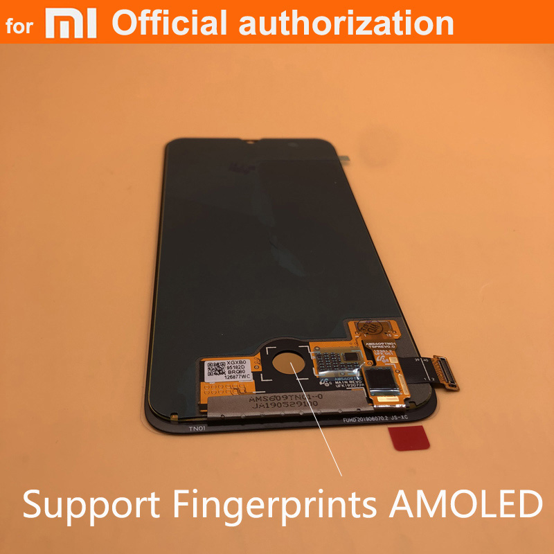 OEM AMOLED 6.01'' fingerprints LCD Replacement For Xiaomi MiA3 LCD Display Touch Screen Digitizer For Xiaomi mi a3 CC9e LCD(China)