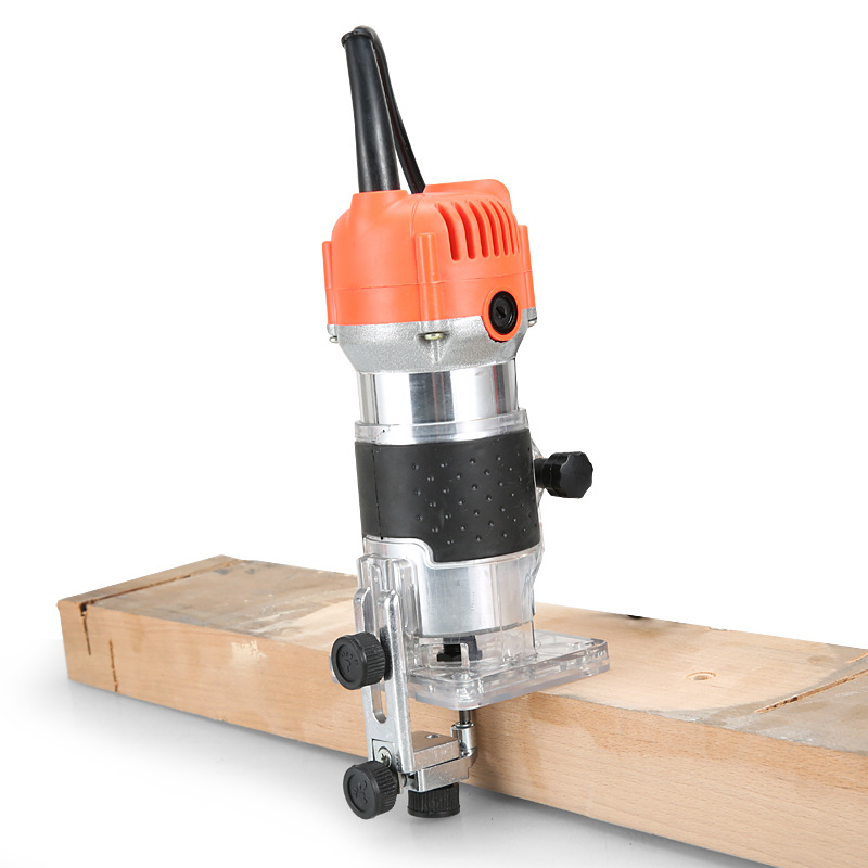 650W 30000rpm Woodworking Electric Trimmer Wood Milling Engraving Slotting Trimming Machine Hand Carving Machine Wood Router