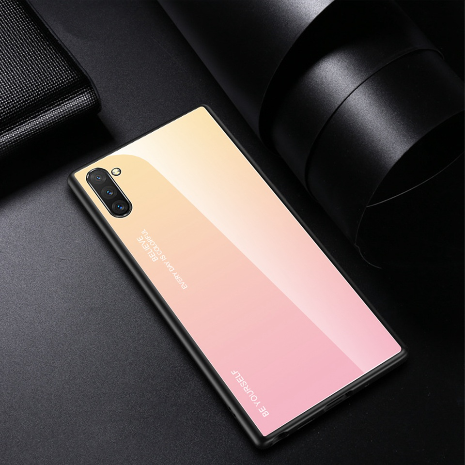 Luxury Glass Case For Samsung Galaxy Note 10 Pro 9 8 Note10 A50 A70 A50s A30s A30 A20 A10 J4 A7 2018 S8 S9 S10 Plus Phone Cover (18)