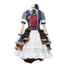 Japanese Anime BanG Dream! 7th-LIVE Roselia Cosplay Costume Uniform Minato Yukina Halloween Dress Free Shipping B