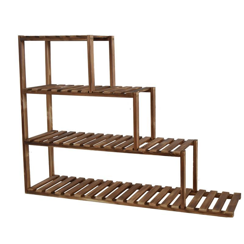 Jardin Repisa Plantas Estante Para Flores Garden Shelves For Plantenrekken Balcony Outdoor Flower Stand Rack Plant Shelf