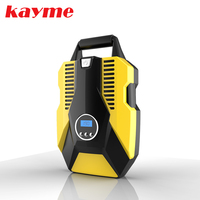 Kayme 150PSI Car Tire Inflatable Pump, Portable Automatic Digital Display Dc 12V Air Compressor For Auto Motorcycles Bicycles.